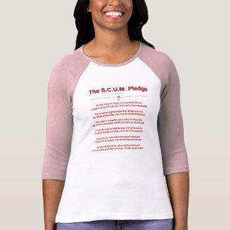 S C U M Pledge T Shirt
