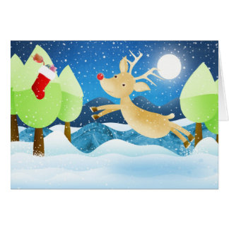 s christmas stocking card
