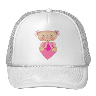 s Girls Ragdoll Heart Cap