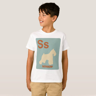 S is for Schnauzer T-Shirt