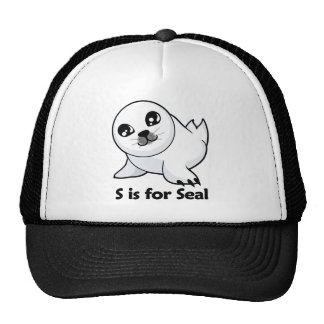 S is for Seal Hats