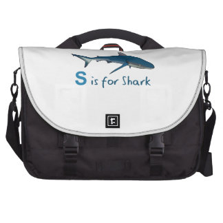 S IS FOR SHARK LAPTOP BAGS