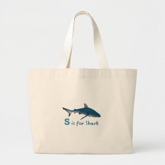 S IS FOR SHARK BAG