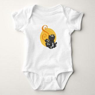 S is for Skunk Baby Bodysuit