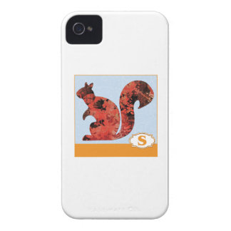 S is for Squirrel Case-Mate iPhone 4 Cases