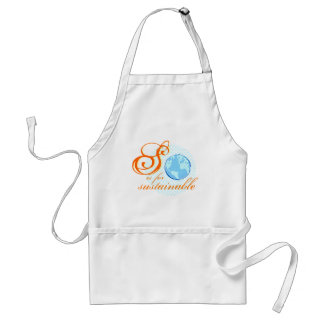 S Is For Sustainable Chef's Apron