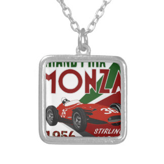 S.M. 1956 M250F SILVER PLATED NECKLACE