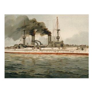 S.M. Grosse Kreuzer 'Furst Bismarck' (H.M. Great C Postcard