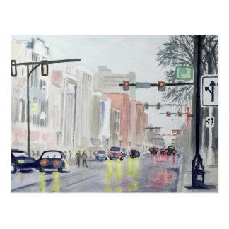 S Main St, Ann Arbor Michigan Postcard