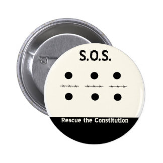 S O S Rescue the Constitution Pins