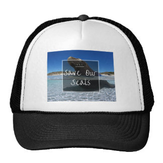 S.O.S ~ Save Our Seals Cap