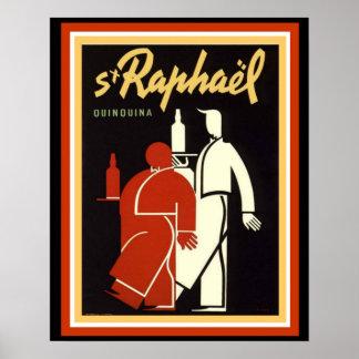 S + Raphael Vintage Poster 16 x 20