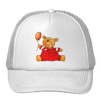 s Red Bear Balloons Cap