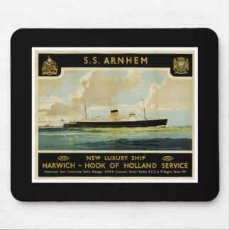 S.S. Arnhem - Luxury Liner - Holland Mouse Pad