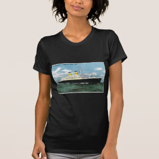 S.S. Constitution American Express Lines Vintage Shirt