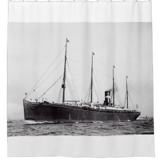 S.S. Veendam Shower Curtain