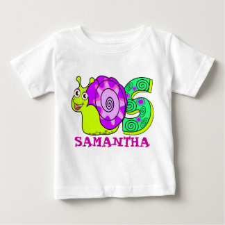 S SNAIL, name initial Baby T-Shirt