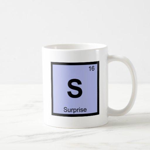 S - Surprise Arizona Chemistry Periodic Table City Mug