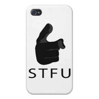S T F U CASES FOR iPhone 4