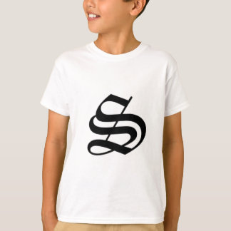 S-text Old English Shirt
