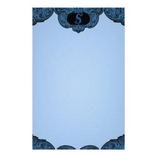 S - The Falck Alphabet (Blue) Stationery