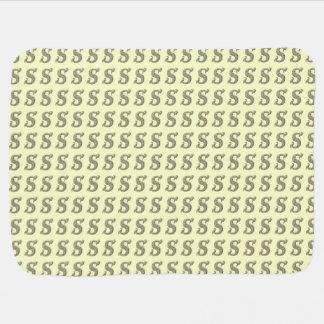 S - The Falck Alphabet Golden Stroller Blankets