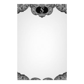 S - The Falck Alphabet (Silvery) Stationery Paper