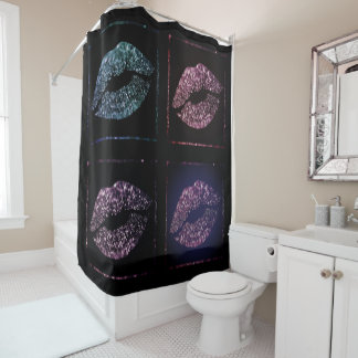 S.W.A.K. SHOWER CURTAIN