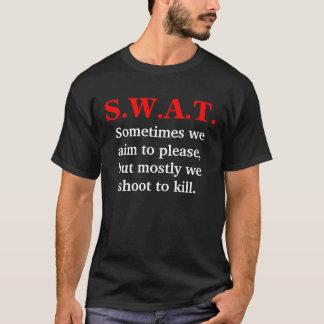 S.W.A.T. Aim To Please Shirt