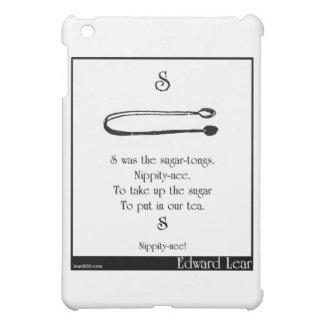 S was the sugar-tongs iPad mini cases