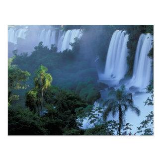 SA, Brazil, Parana State; Iguacu NP, Iguacu Postcard