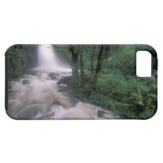 SA, Peru, S.H. Machu Picchu, Cascade and cloud iPhone 5 Case
