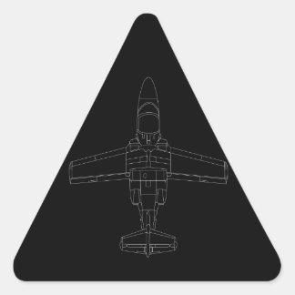 SAAB 105 Black Sticker