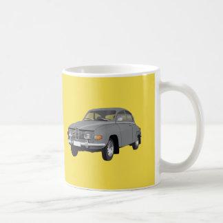 Saab 96, gray coffee mug