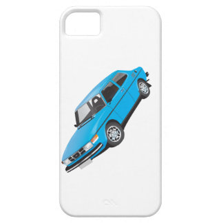 Saab 99 blue iPhone 5 cover