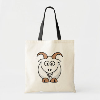 Saanen Goat Budget Tote Bag