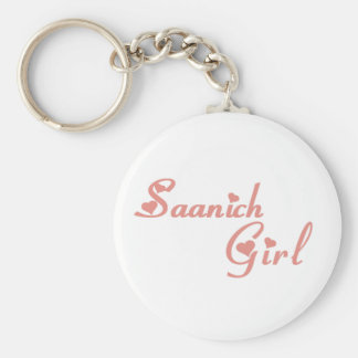 Saanich Girl Key Ring