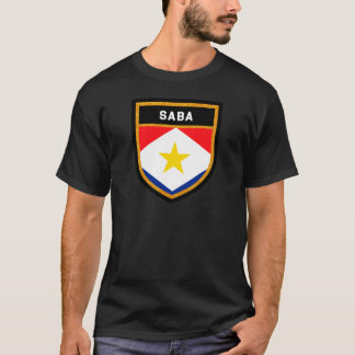 Saba Flag T-Shirt