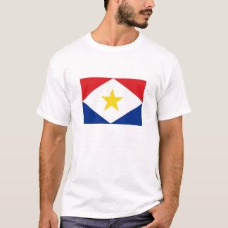 saba island flag Netherlands country region T-Shirt