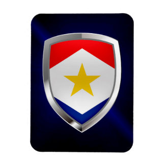 Saba Metallic Emblem Magnet