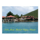Saba Rock Postcard