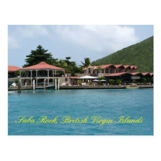 Saba Rock Postcard
