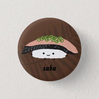 Saba Sushi 3 Cm Round Badge