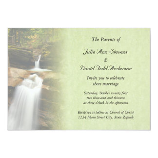Sabbaday Falls Wedding Invitation