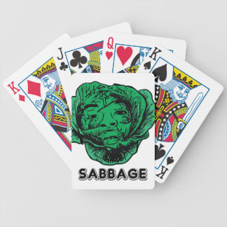 Sabbage Bicycle Playing Cards