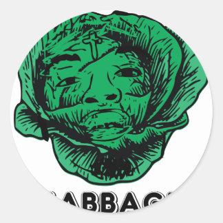 Sabbage Classic Round Sticker