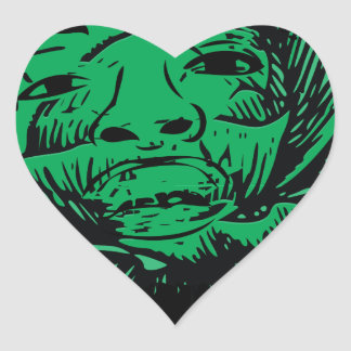 Sabbage Heart Sticker