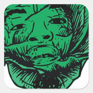 Sabbage Square Sticker