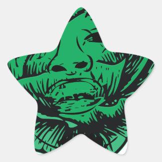 Sabbage Star Sticker