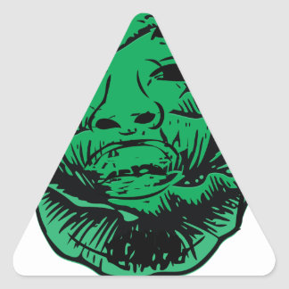 Sabbage Triangle Sticker